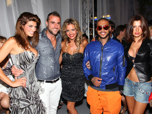 Teodora Rutilgliano, Philipp Plein, Yasmin Klein-Luc, Timati & Girlfriend at the PHILIPP PLEIN Store Opening in Cannes