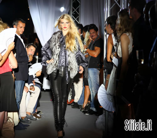 FW 11 Fashion Show at the PHILIPP PLEIN Store Opening in Cannes.01
