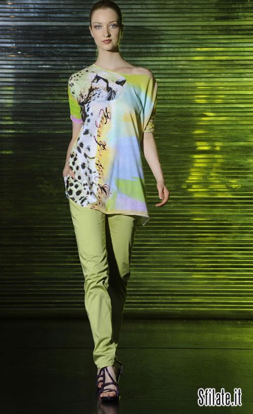 Per la prossima primavera estate 2011 krizia lancia una nuova collezione, Krizia Poi