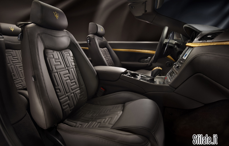 La Maserati GranCabrio Fendi sarà presentata al Salone dell'Automobile di Francoforte a Settembre 2011.