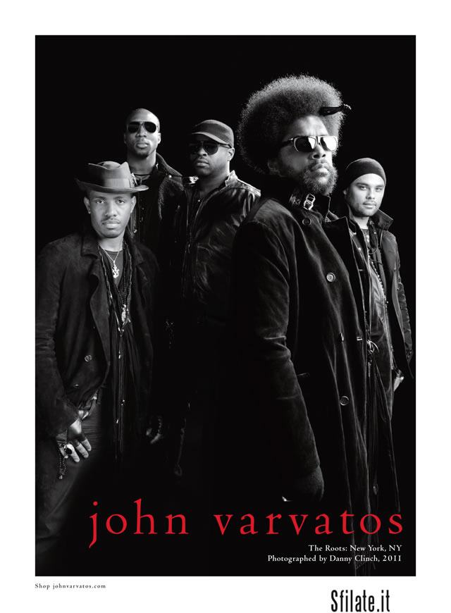 i The Roots e John Varvatos