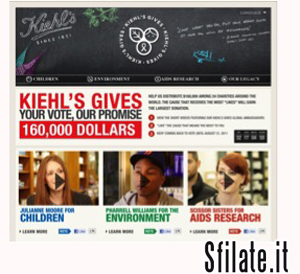 """Kiehl's Gives"""