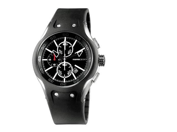 Orologi: Linee fluide e arrotondate contraddistinguono il cronografo sportivo Vanguard firmato Momodesign.