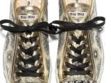 Miu Miu svela le nuove Sneakers, novità della collezione, per l'autunno inverno 2011.