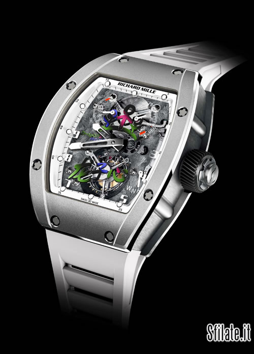 Il tourbillon RM JC il nuovo orologio che Richard Mille
