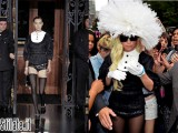 Lady GaGa veste Louis Vuitton a New York