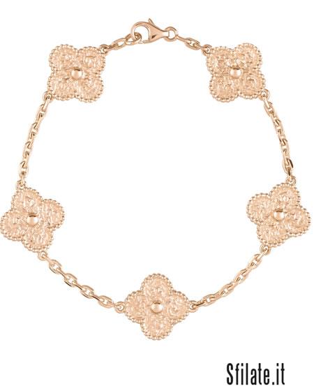 Lo charme dell'oro rosa per Van Cleef & Arpels