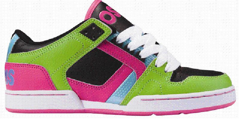 Il ritorno a scuola è coloratissimo per Osiris Shoes