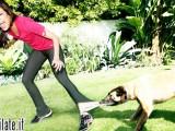 Eva Mendes si allena con Reebok ed Hugo