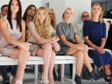 Parterre alla sfilata di Calvin Klein a New York