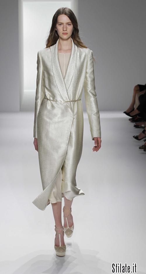 Francisco Costa, Direttore Creativo della linea donna Calvin Klein, ha presentato nella sede di New York la collezione Calvin Klein Collection Primavera/Estate 2012.
