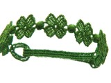 il il braccialetto quadrifoglio di Cruciani