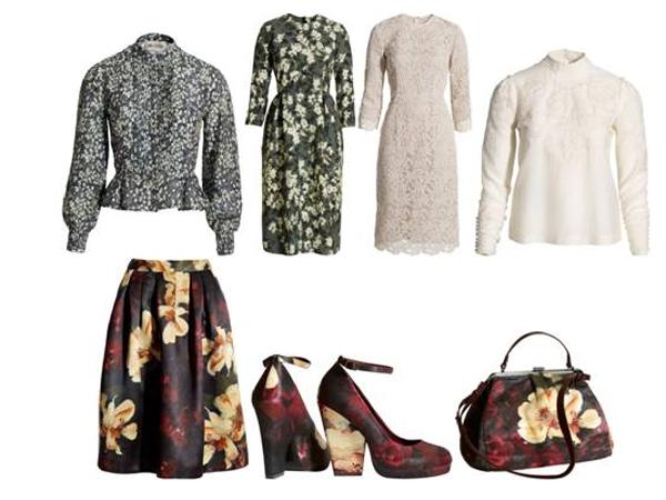 Per H&M l'autunno è folk romantico