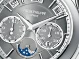 Cassa in platino per la nuova Referenza 5208P di PATEK PHILIPPE.