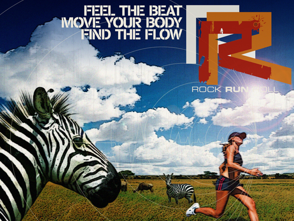 """Rock Run Roll """"Africa Run Workouts"""","""