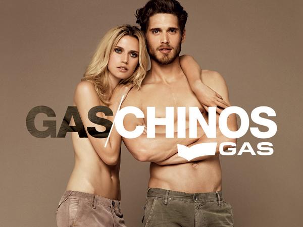 GAS per l'Autunno-Inverno 2011/12 interpreta in modo unico la tendenza del momento: il pantalone Chino