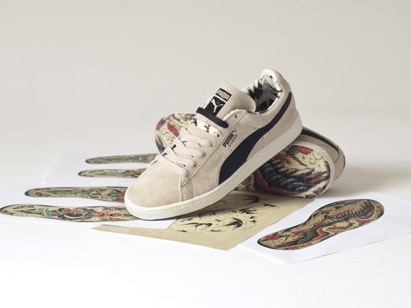 Puma lancia una collezione di sneaker che sposa il magico mondo tatoo