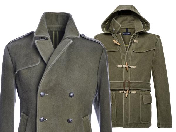 La Military per la Capsule Collection di AQUARAMA in lana.