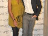 Cristina Bertelli, titolare di Cristinaeffe con il Principe Emanuele Filiberto