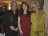 Lorena Bianchetti ospite di Paolo e Cristina Bertelli, titolari della griffe Cristinaeffe