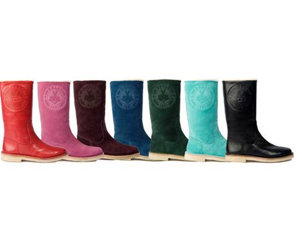 gli stivali coloratissimi di Bally