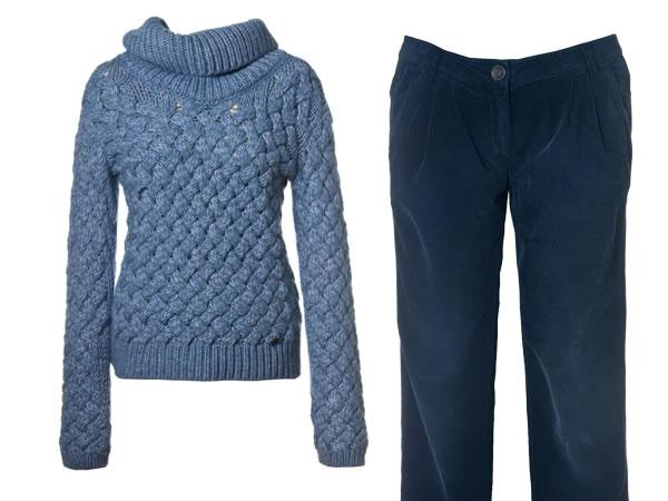Il maglione in lana tricot per Murphy&NYE