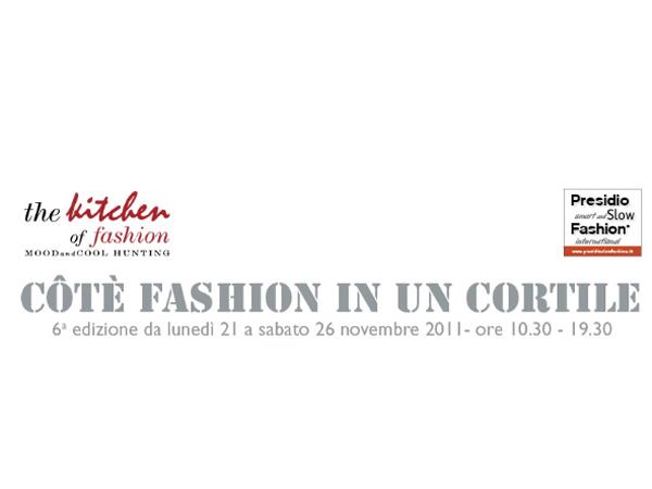 Trenta Stilisti per Côtè Fashion in un cortile