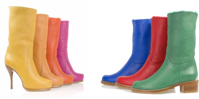 Stivali da Donna: è color block per Ballin