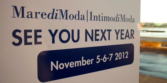 Si conclude con un trend in positivo rispetto al 2010 l'ultima edizione di Maredimoda Intimodimoda a Cannes.