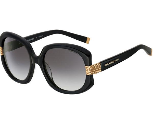 Tru Trussardi: gli occhiali da sole riscoprono le montature con taglio a diamante