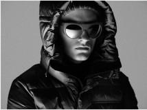 Mykita&Moncler è stata quella di reinterpretare in chave moderna il tradizionale occhiale rotondo degli anni '50 utilizzato tra i ghiacciai