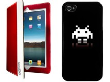 Le cover per Ipad e Iphone con Pantone, Keith Haring e Space Invaders