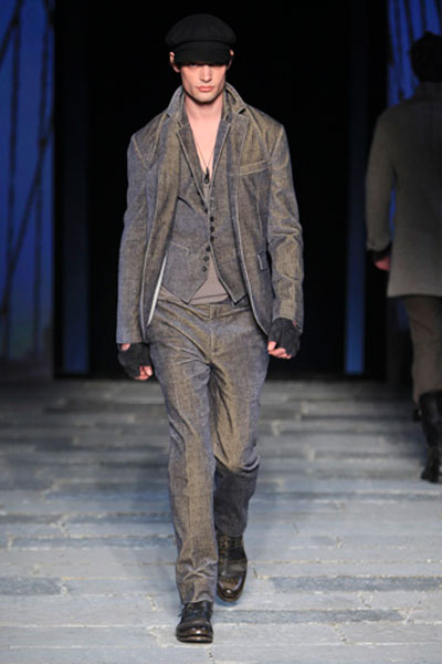 John Varvatos - sfilata autunno inverno 2012/13 - milano moda uomo
