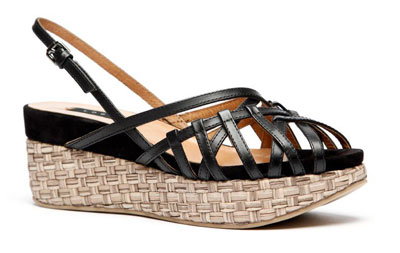 Il sandalo Geisha di Logan - p/e 2012