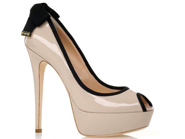 Il candore rosa cipria per le scarpe da donna di Ballin