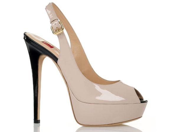 Per la prossima primavera estate 2012 le scarpe da donna di Ballin diventano preziose e romantiche.