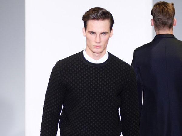 Calvin Klein - sfilata milano moda uomo - autunno inverno 2012/13