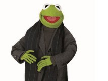 Kermit la Rana veste Brooks Brothers in 'The Muppets'