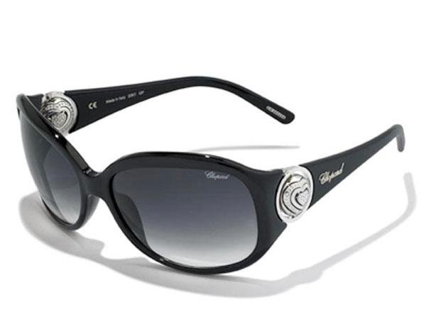 Chopard firma anche gli occhiali con il suo stile unico.
