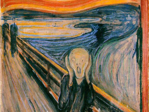 L'Urlo, il dipinto capolavoro di Edvard Munch