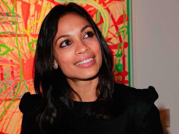 Rosario Dawson: ospite speciale per Montblanc Cutting Edge Art Collection