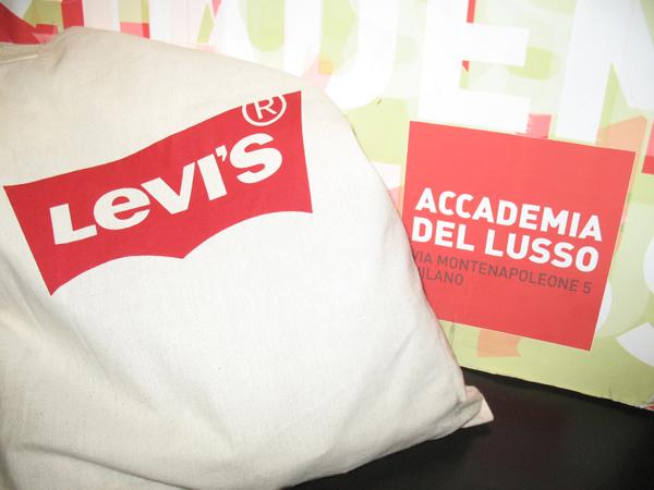 Levi's e Accademia del Lusso insieme