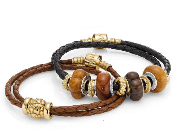 I charms in legno di Pandora