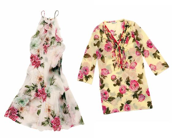 Per l'estate 2012 Henry Cotton's gioca con le fantasie fiorite