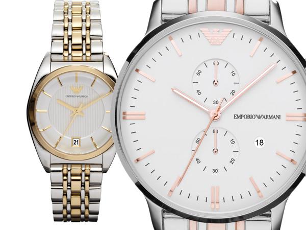 'New Retro', la nuova collezione estiva degli orologi di Emporio Armani