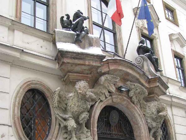 Antica Murrina verrà celebrata all'Ambasciata d'Italia a Praga.