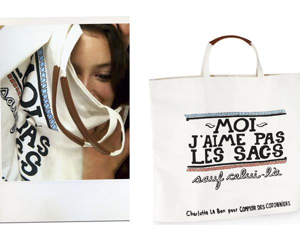 la borsa eco-solidale di Comptoir des Cotonniers