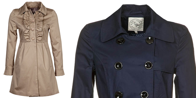 impermeabile o trench