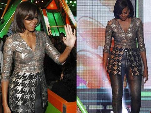 Michelle Obama per i KIDS' CHOICE AWARDS di Nickelodeon