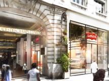 Levi's negli Champs Élysées